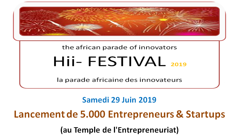 Hii festival lancement 5000 statups